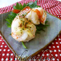 Ultra-Easy Baked Mayo Shrimp in the Microwave