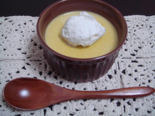 Simple! Kabocha Squash Pudding