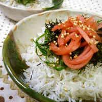 Easy and Totally Delicious Shirasu Rice Bowl