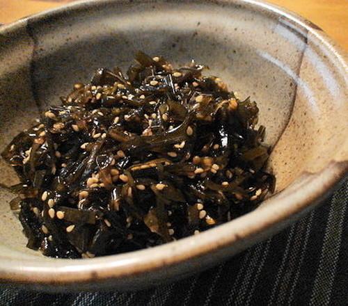 Simmered Sesame Konbu