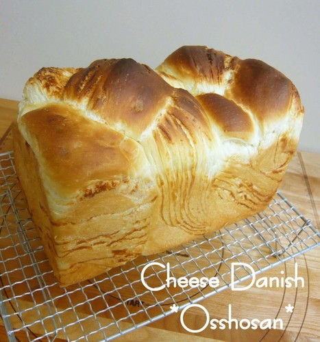 Cheese Danish with Cheese Sheet
