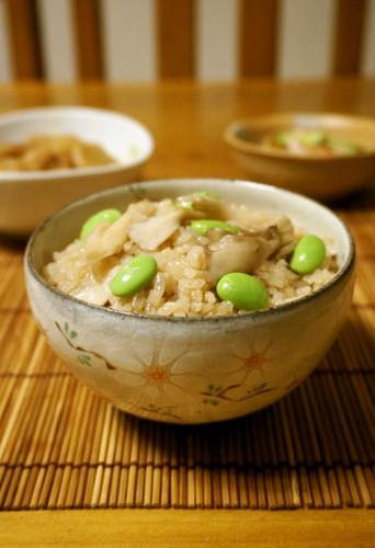 Shimeji & Maitake Mushroom Seasoned Rice