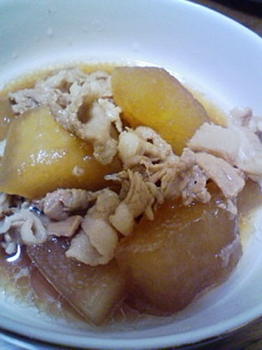 Easy and Super Tasty Pork and Winter Melon Simmered in Honey