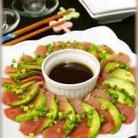 Carpaccio of Tuna And Avocado