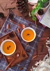 Easy One Pot Soup with Kabocha Squash