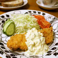 Crispy & Delicious Deep-Fried Salmon and Tartare Sauce
