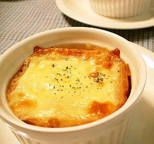 Onion Gratin Soup For Christmas