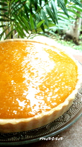Smooth and Moist Rich Kabocha Tart