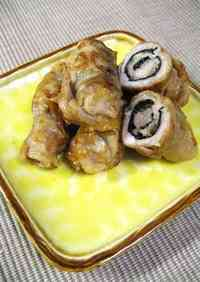 Pork, Nori and Cheese Rolls: For Bentos