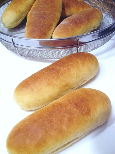 Brown Sugar & Kinako (Roasted Soy Flour) Plain Bread Rolls