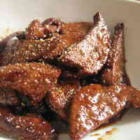 Sweet and Savory Stewed Pork Liver