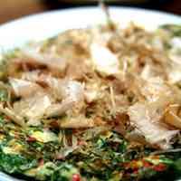 Yummy! Leek Okonomiyaki