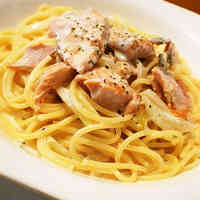 Rich Creamy Salmon Pasta