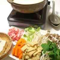 Soy Milk Hot Pot after Yuba Tofu Skin