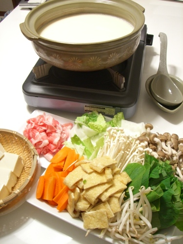Soy Milk Hot Pot after Yuba Tofu Skin