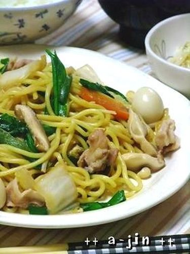 Easy and Yummy Shanghai-Style Yakisoba Noodles