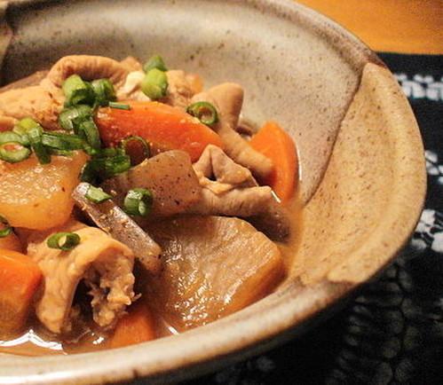 Simmered Pork Offal