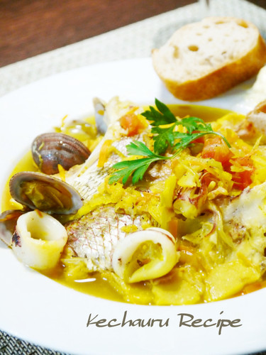Our Family's Basic Recipe for Bouillabaisse