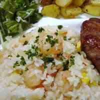 Rice Cooker Shrimp Pilaf