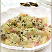 Bacon and Winter Melon in Cream Sauce