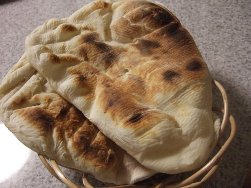 Easy Naan in a Bread Machine
