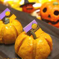 Easy Rolled Halloween Pumpkins