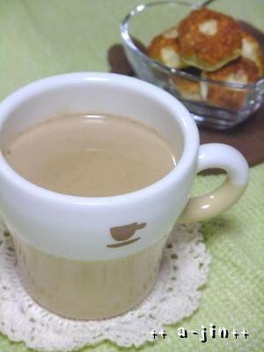 Warm Honey and Cinnamon Cafe au Lait
