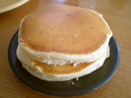 Light and Fluffy Rice Flour Pancakes