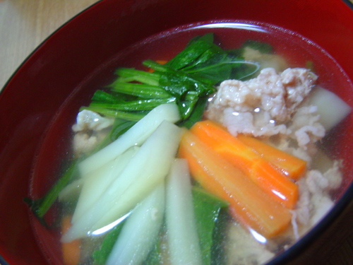 Simple Pork Soup