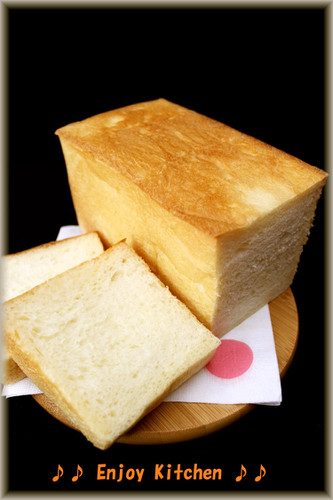 Soft and Fluffy Rich Bread Loaf with Cream