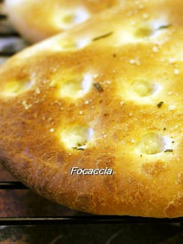 Focaccia in a Bread Maker
