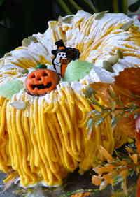 Halloween Kabocha Squash Mont Blanc