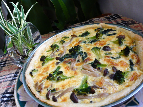 Easy Quiche at Home
