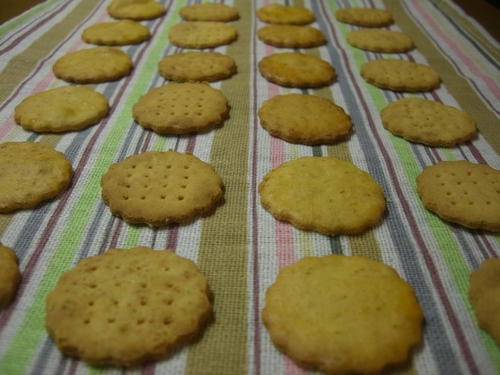 Oil-free Crispy Okara Cookies