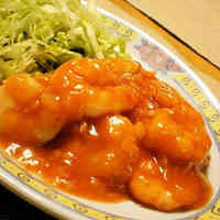 Plump Shrimp with Chili Sauce