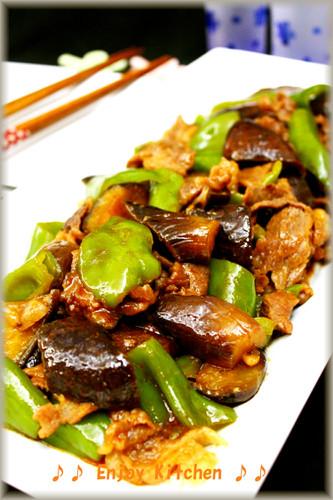 Spicy Stir-ffried Beef & Green Pepper