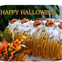 Halloween Swiss Roll Cale