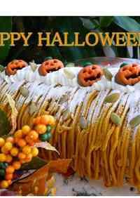 Halloween Swiss Roll Cale
