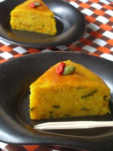 Flour and Fat Free Moist Kabocha Squash Cake