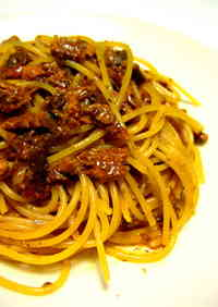 Exquisite Pasta with Canned Saury