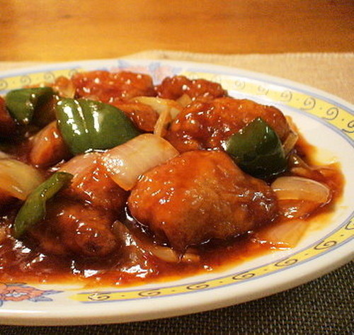 Easy Sweet & Sour Pork with Mentsuyu