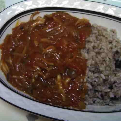 Vegetarian Hayashi Rice with Tons of Mushrooms