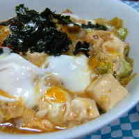 Eggy Tempura Crumbs and Cabbage Stir-fry Rice Bowl