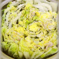 Easy Layered Chinese Cabbage and Pork In A Pot