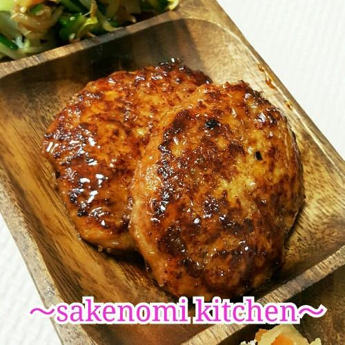 Teriyaki Hamburger Steak