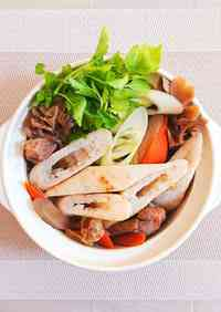 Our Family Recipe for Kiritanpo Hot Pot