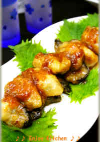 Butter Sautéed Oysters with Oyster Sauce