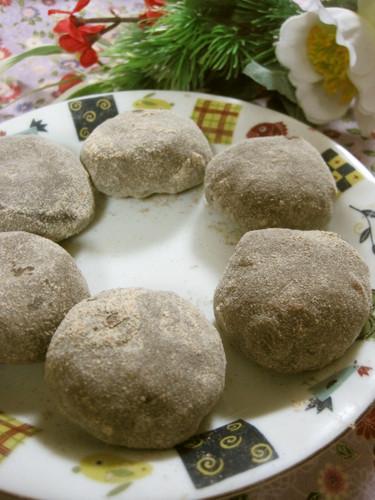Barley Flour Mochi
