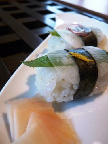 Turnip Nigiri Sushi