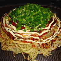 My Husband's Hiroshima-style Okonomiyaki (with photos)